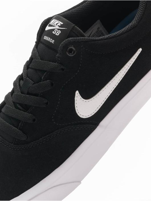 Nike SB Сникеры Charge Suede черный