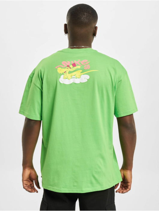 Nike SB Футболка Dragon зеленый