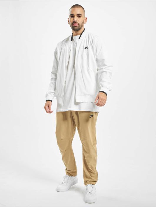 Nike SB Basebalové bundy Classic biela
