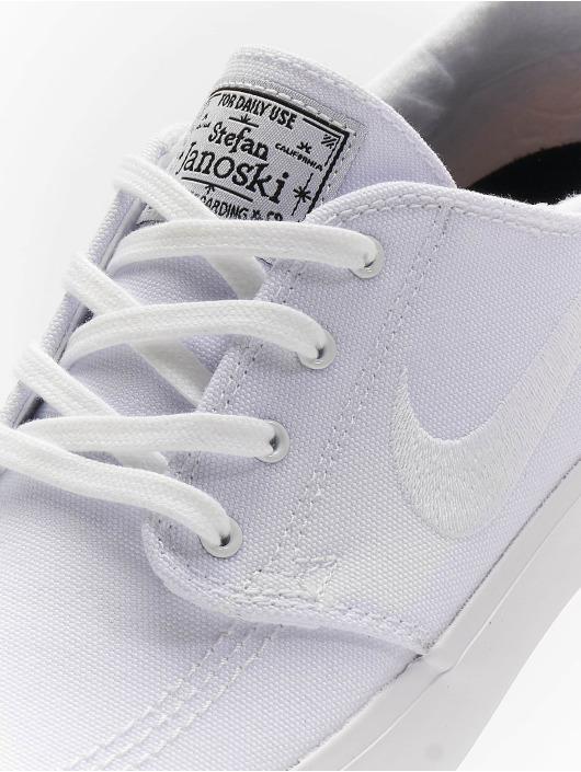 Nike SB Baskets Zoom Janoski Canvas blanc
