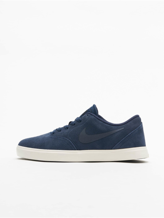 Nike SB Baskets SB Check Suede (GS) bleu