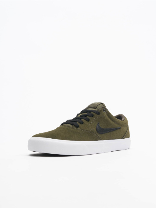 Nike SB Baskets SB Charge Suede kaki