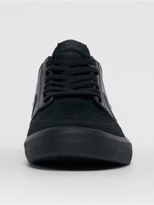 Nike SB Baskets Solarsoft Portmore Ii Mid Skateboarding noir