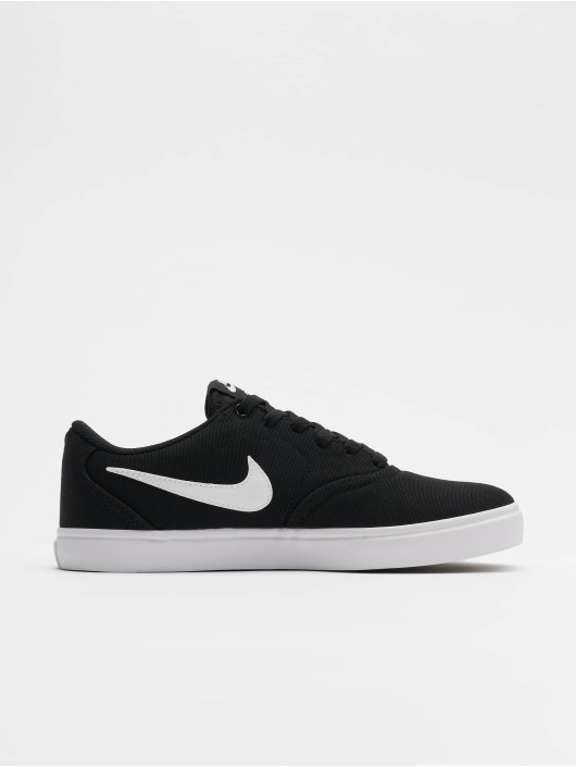 a53b456b9c5b3 Nike SB Baskets Check Solar Canvas noir