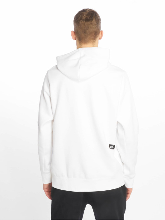 Nike SB Bluzy z kapturem Icon bialy
