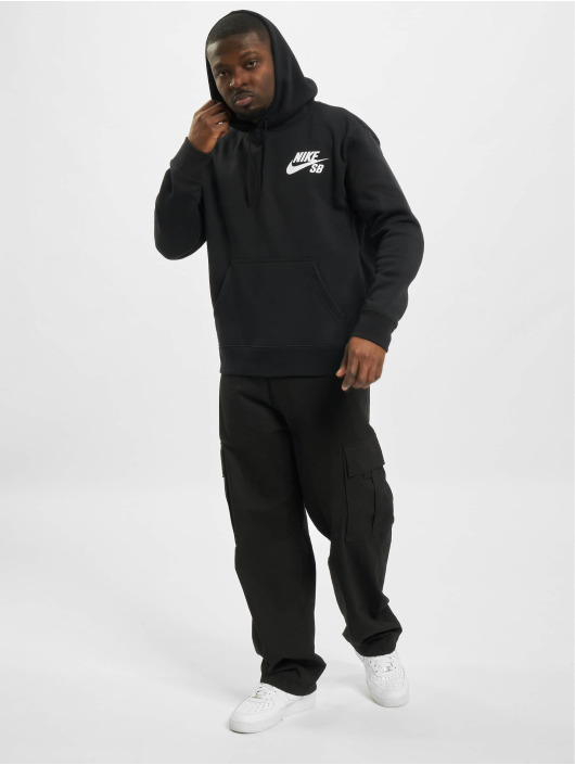 Nike SB Bluzy z kapturem Icon Essnl czarny