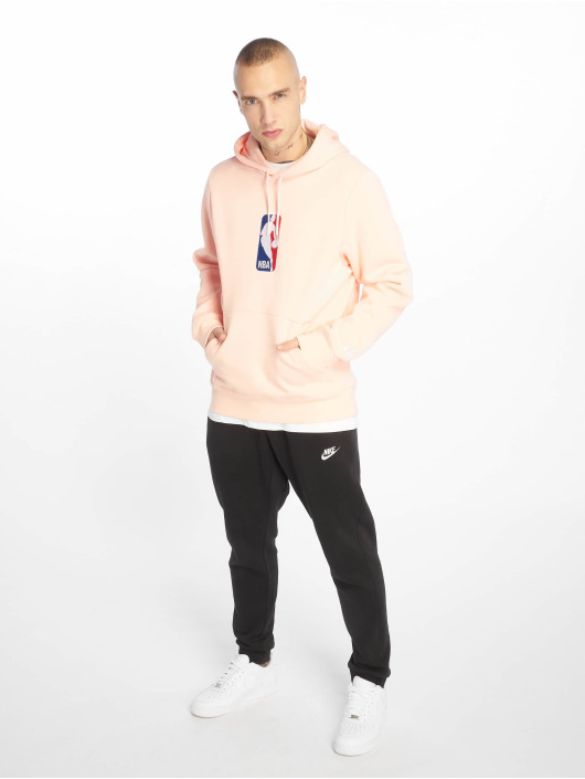 Nike SB Bluzy z kapturem NBA Icon pink