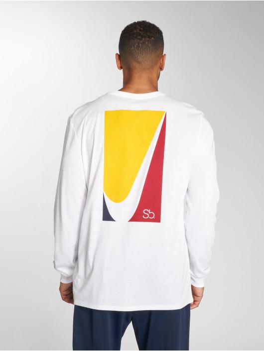Nike SB Camiseta de manga larga SB blanco