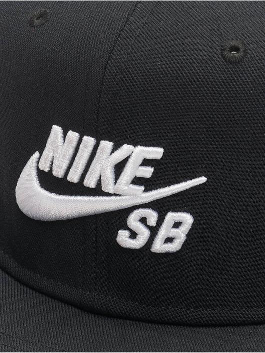 Nike SB Casquette Snapback & Strapback SB Icon Pro noir