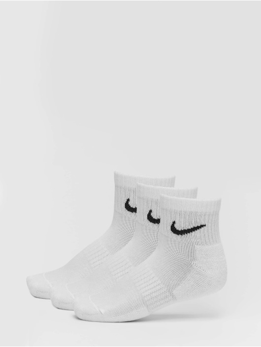 Nike SB Chaussettes Everyday Cush Ankle 3 Pair blanc
