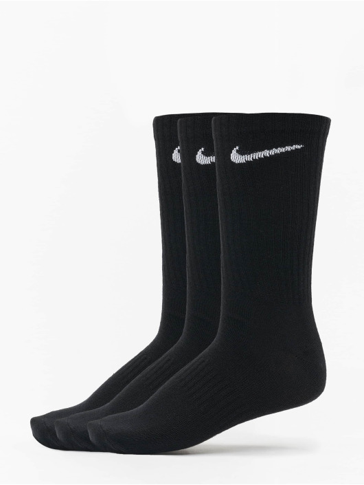 Nike SB Chaussettes Everyday LTWT Crew 3 Pair noir