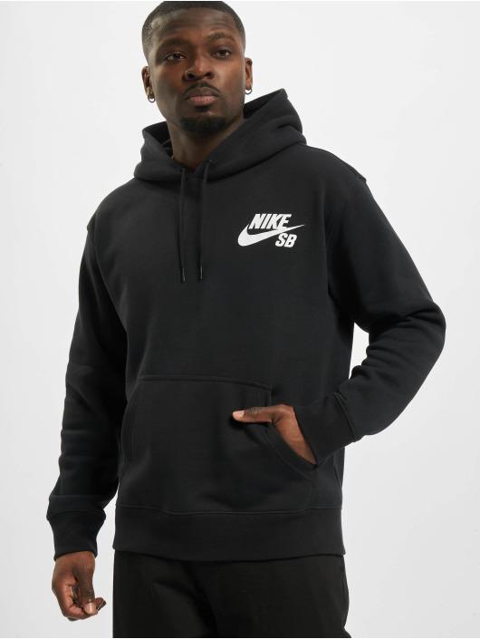 Nike SB Felpa con cappuccio Icon Essnl nero