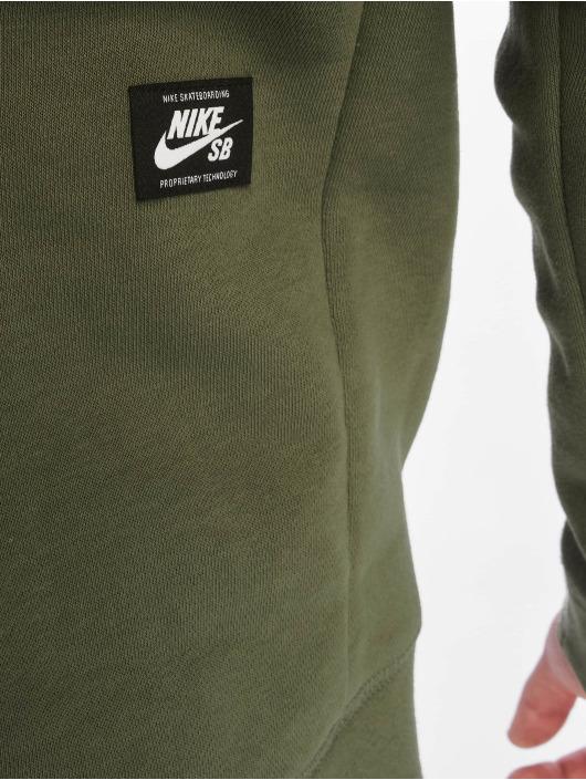 Nike SB Hettegensre SB Icon Hoodie Essential oliven