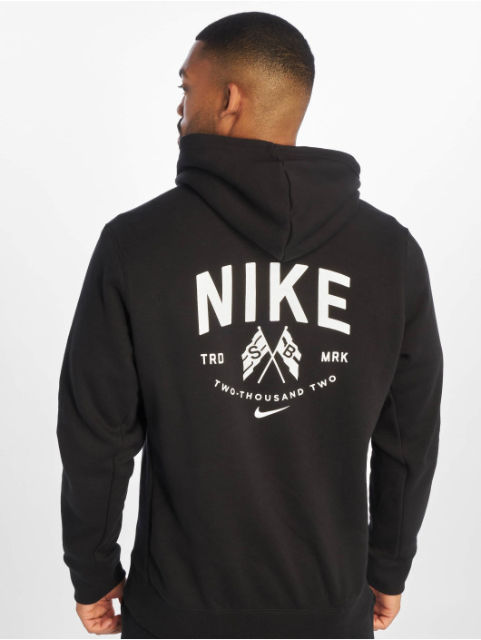 f2dba96d32 Nike SB Herren Hoody PO LS in schwarz 677612