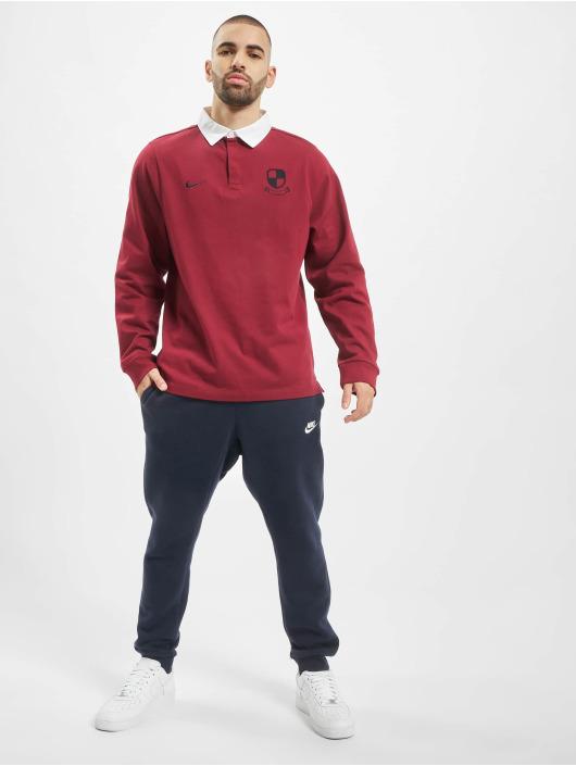 Nike SB Koszulki Polo SB Rugby F19 czerwony