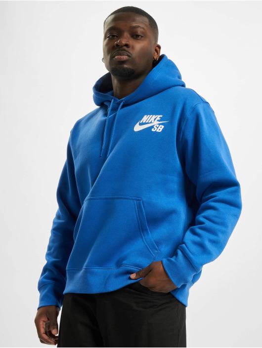 Nike SB Mikiny Icon Essnl modrá