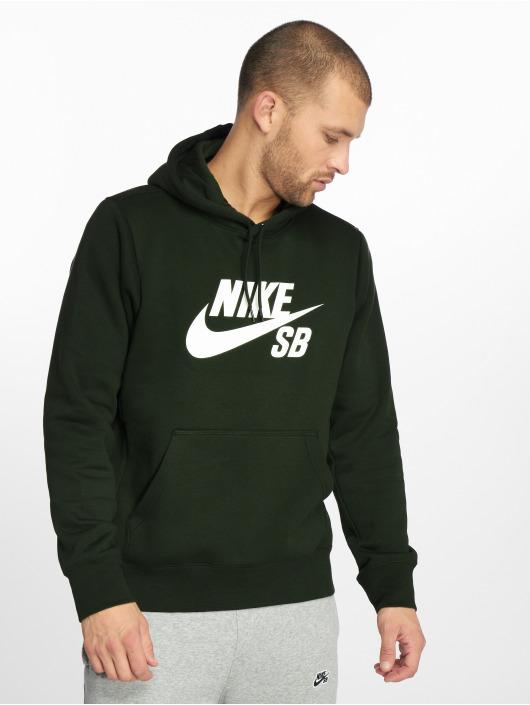 Nike SB Mikiny Icon zelená