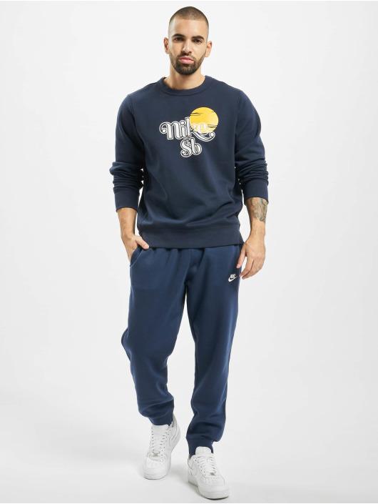 Nike SB Pulóvre Icon Crew Sunrise modrá