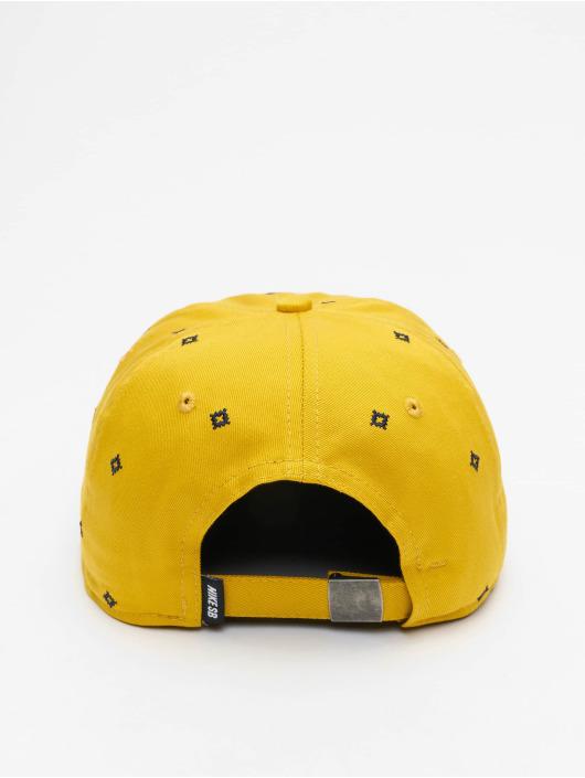 Nike SB Snapback Cap Unstruc FB AOP yellow