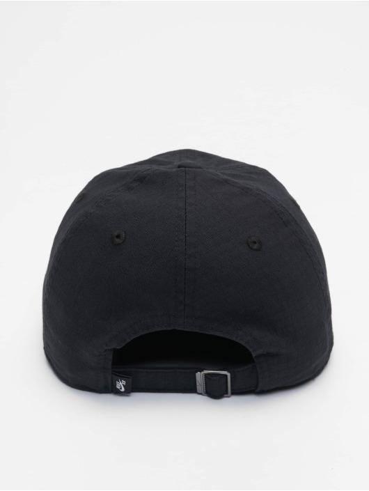 Nike SB Snapback Caps H86 Flatbill čern