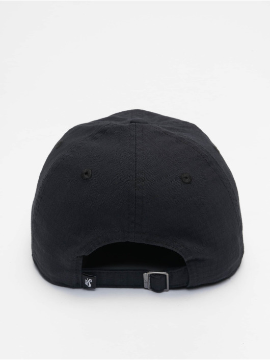 Nike SB Snapback Caps H86 Flatbill czarny