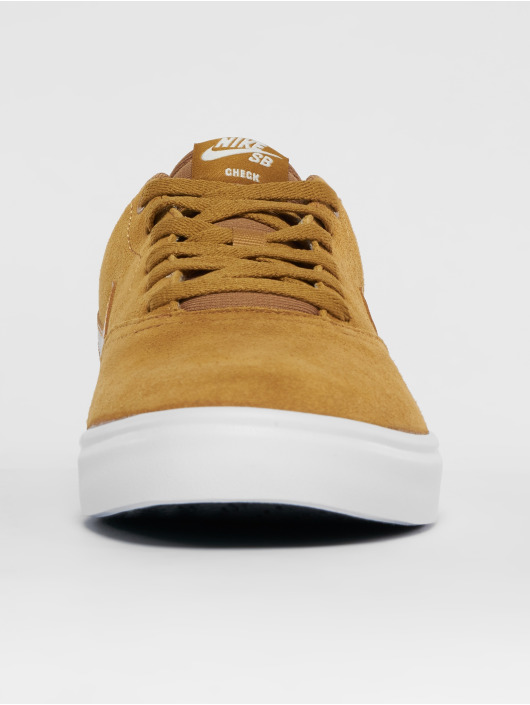 Nike SB Sneaker Check Solarsoft Skateboarding beige