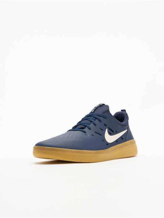 Nike SB sneaker Nyjah Free Skateboarding blauw