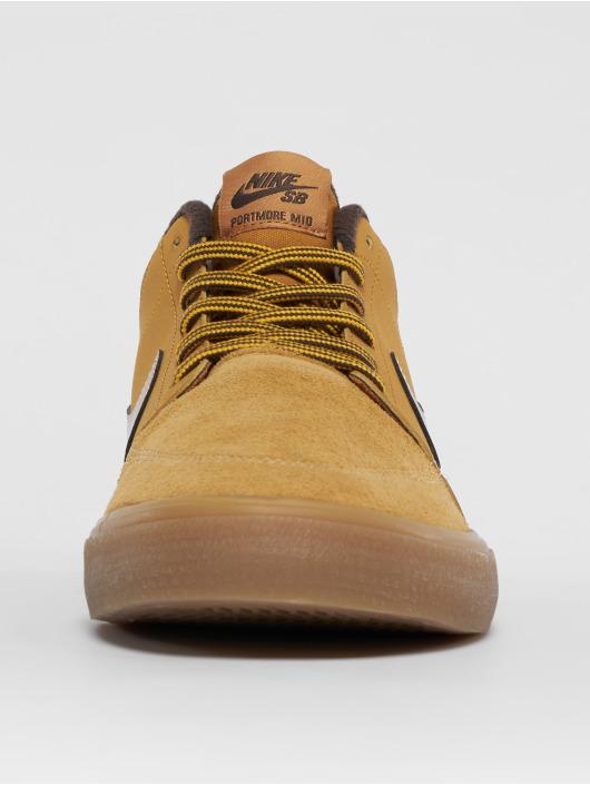 Nike SB Sneaker Portmore Ii Solarsoft Mid Bota braun