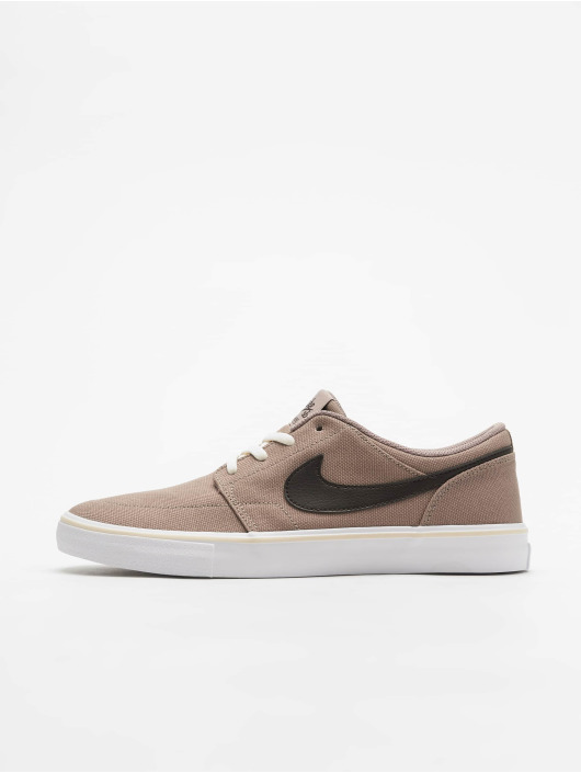 great look sports shoes uk cheap sale Nike SB Solarsoft Portmore II Sneakers Sepia Stone/Velvet Brown/Light Cream