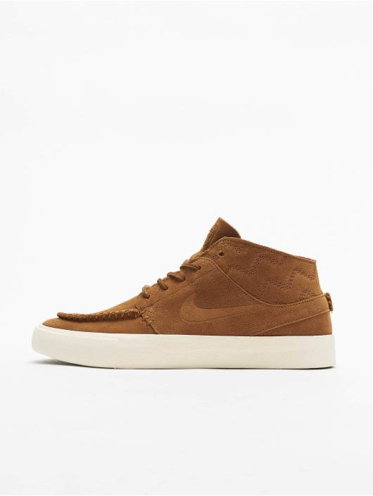 Nike SB Sneaker Zoom Janoski Mid RM Crafted braun