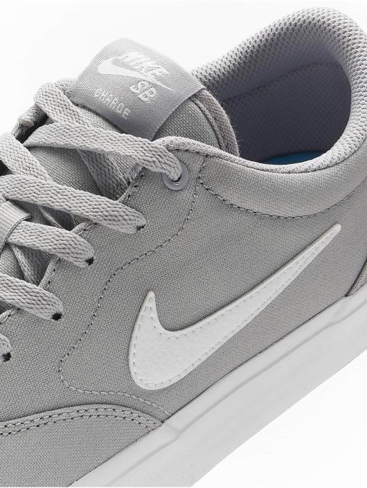Nike SB Sneaker SB Charge Canvas grau