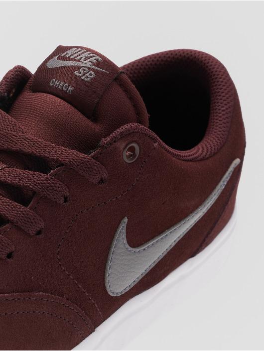 Nike SB Sneaker Sb Check Solarsoft Skateboarding rot