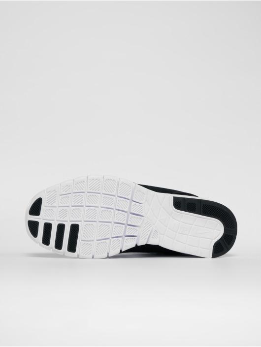 Nike SB Sneaker Stefan Janoski Max Leather schwarz