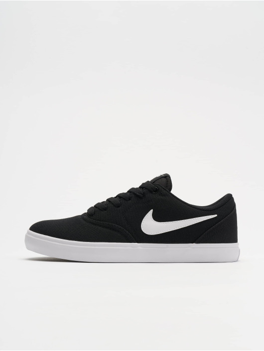 new lower prices uk cheap sale half off Nike SB Check Solar Canvas Sneakers Black/White/Pure Platinum