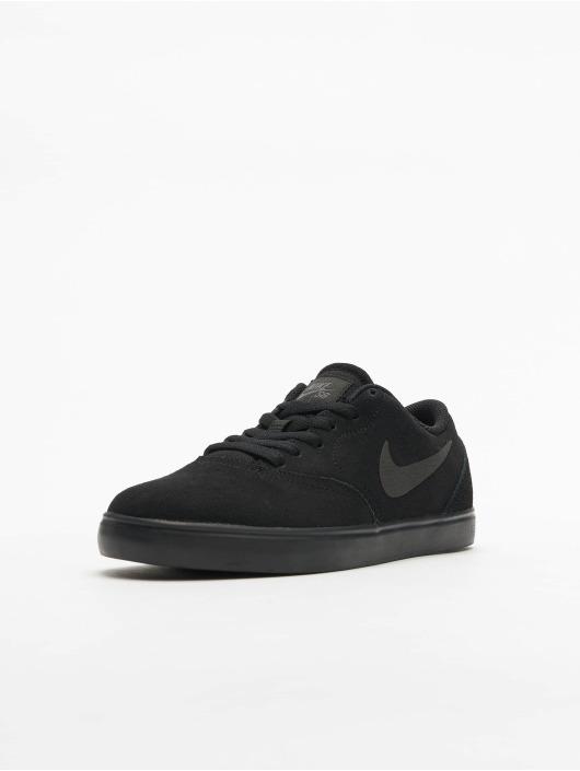 Nike SB Sneaker Check Suede (GS) schwarz