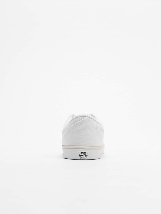Nike SB Sneaker Check Solarsoft Canvas weiß