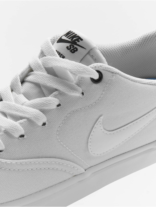 special for shoe speical offer cheapest Nike SB Check Solar Canvas Sneakers White/White/Black