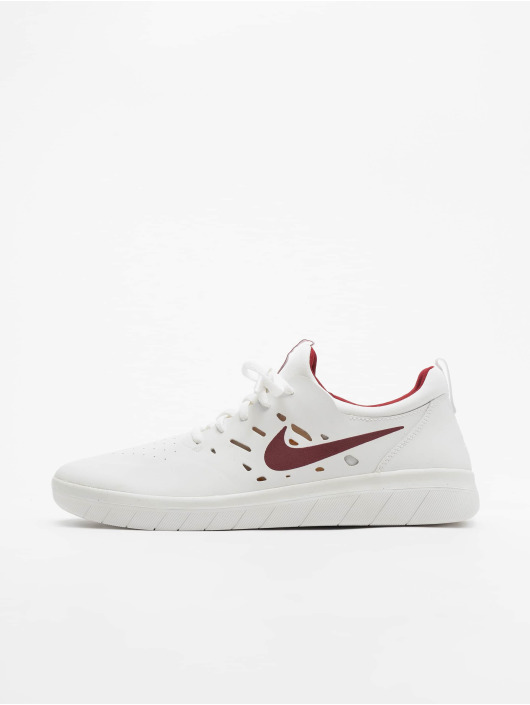 NIKE SB Nyjah Free Sneaker für Herren Weiß