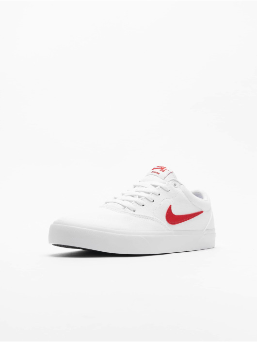 Nike SB Sneaker SB Charge Canvas weiß
