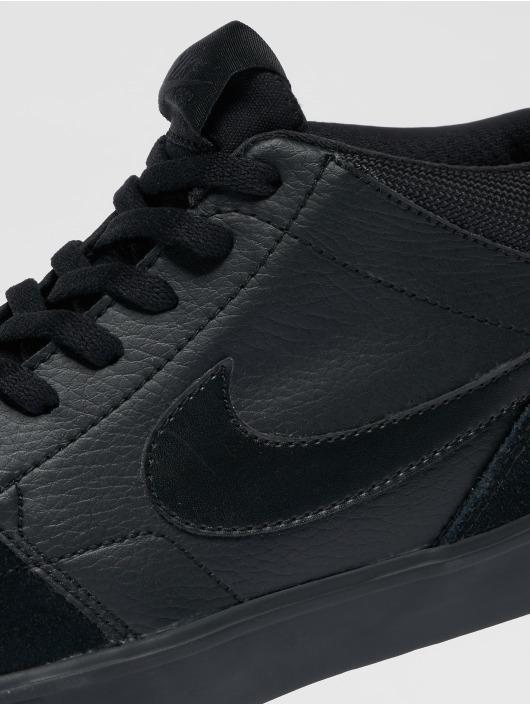 Nike SB Sneakers Solarsoft Portmore Ii Mid Skateboarding èierna