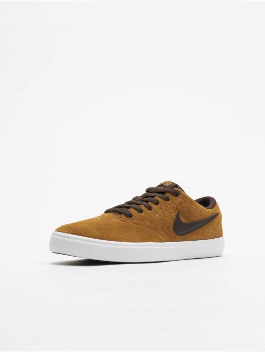 Nike SB Sneakers Check Solarsoft Skateboarding beige