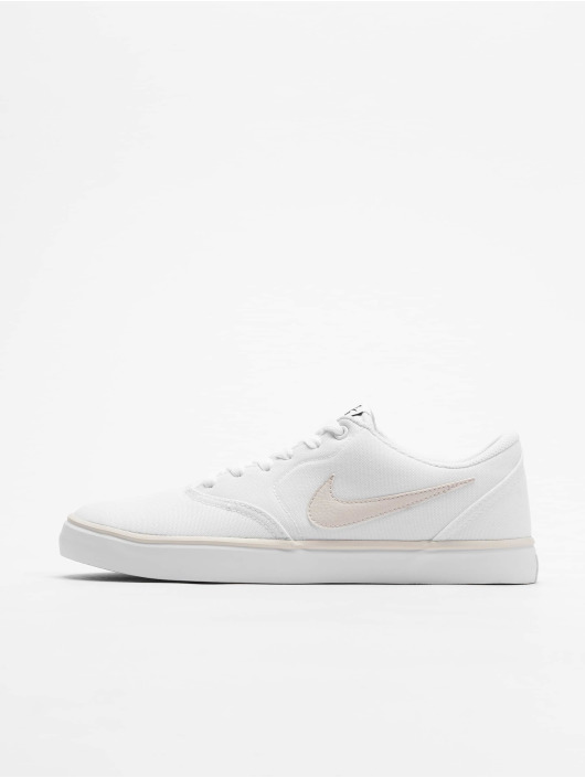 Nike SB Sneakers Check Solarsoft Canvas bialy