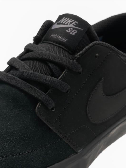 Nike SB Sneakers Solarsoft Portmore II Skateboarding black