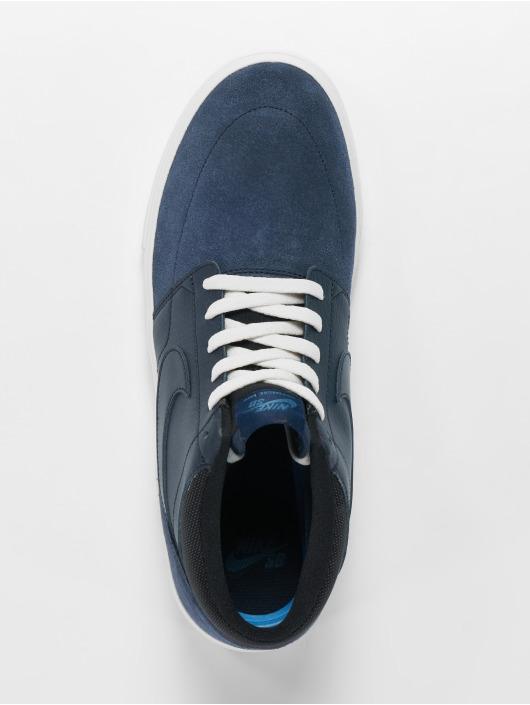 Nike SB Sneakers Solarsoft Portmore Ii Mid Skateboarding blue