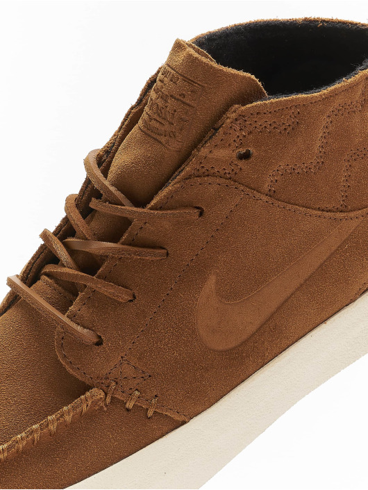 Nike SB Sneakers Zoom Janoski Mid RM Crafted brown