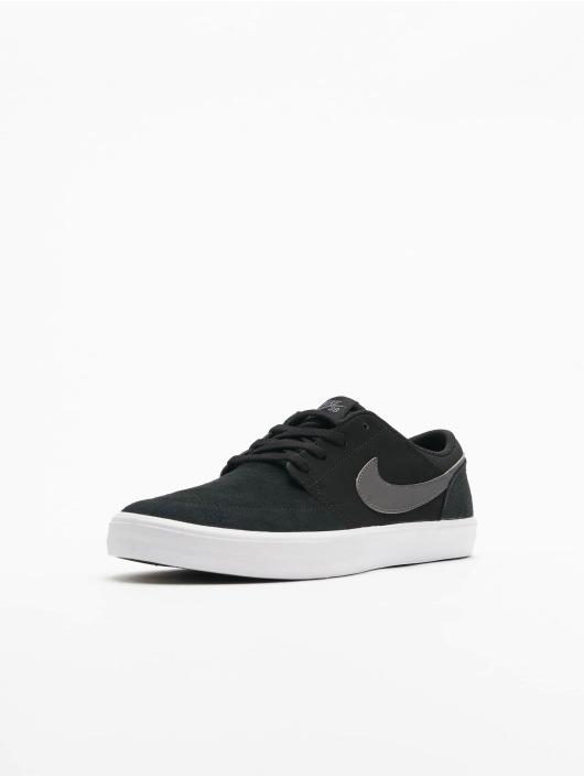 Nike SB Sneakers Solarsoft Portmore ll czarny