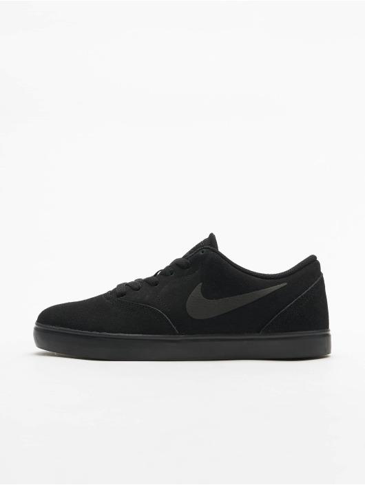 Nike SB Sneakers Check Suede (GS) czarny