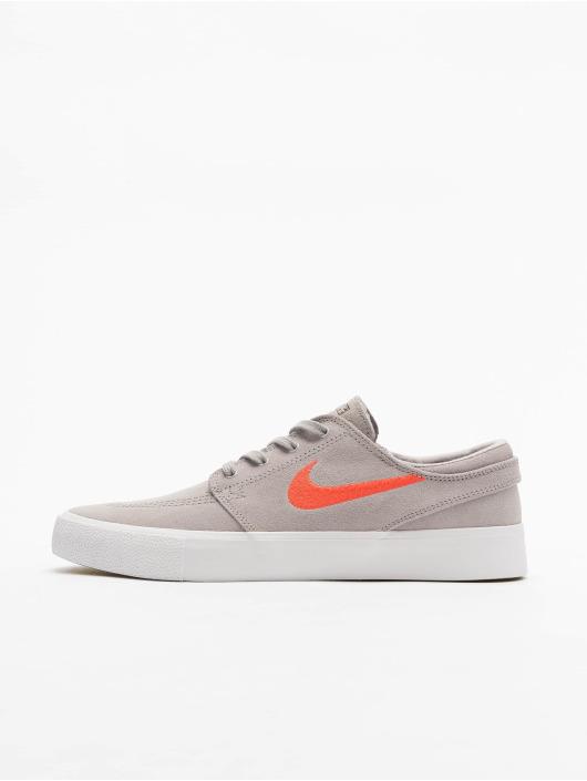 Nike SB Zoom Janoski RM Sneakers Atmosphere GreyBright CrimsonWhite