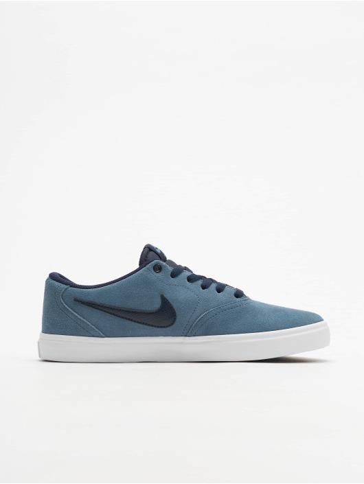 Nike SB Sneakers Check Solarsoft Skateboarding grey