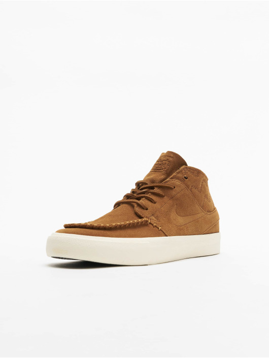 Nike SB Sneakers Zoom Janoski Mid RM Crafted hnedá